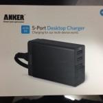 旅先での充電環境を快適に。 〜Anker 40W PowerIQ対応版を購入したよ〜