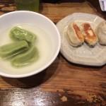 餃天堂 宇都宮駅西口近く 手軽に食べられるお店 焼餃子と水餃子が一緒に食べられる