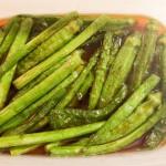簡単! 緑の野菜の揚げ浸しを作る これで作り置きも彩がでるよ