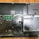 MacBook Pro mid2009のバッテリーが膨らんだのでバッテリー交換しました