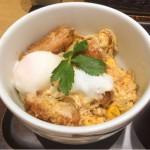 卵とじのヒレかつ丼を新宿さぼてん デリカ ペリエ海浜幕張店で食す