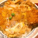 箱崎の蕎麦屋「ときわ」で名物のかつ丼を食べる