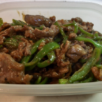 簡単レシピ!牛肉とピーマンの炒め物