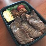 肉肉しいお弁当にしてみた〜2017/07/28のパパが作る子供のお弁当