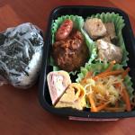 一人分だとやっぱり楽に作れるのがわかった〜2017/07/19 パパが作る子供のお弁当