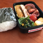 たまには彩りよく〜2017/07/21 パパが作る子供のお弁当