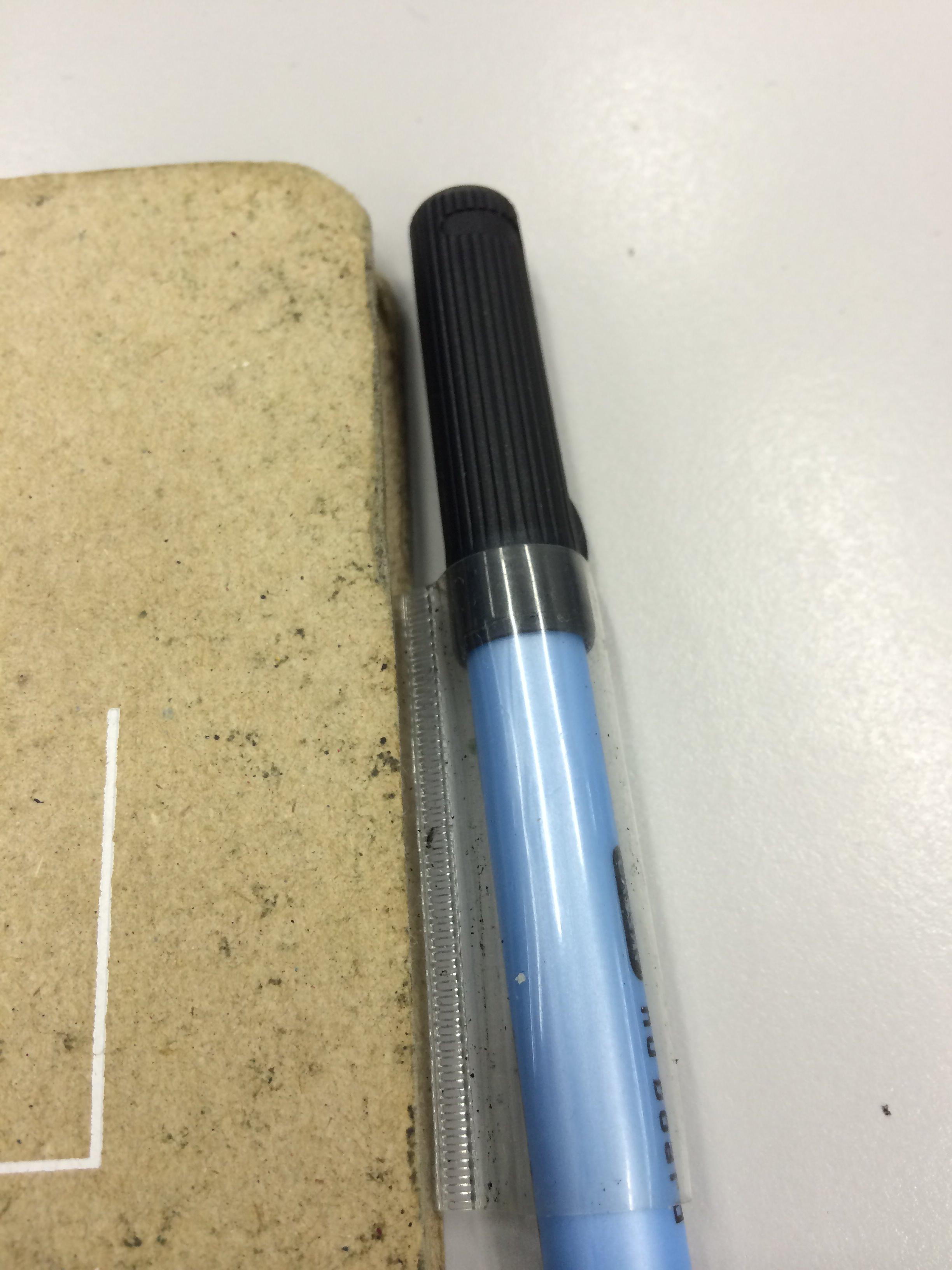 噂の?nu board 0.6mmペンを使ってみたぞ。書きやすくなって消えにくくなった
