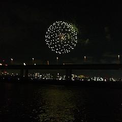 江東花火大会 平日に開催される穴場な花火大会