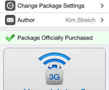 3G/LTE環境でもWi-FIでのみ作動するアプリを使う