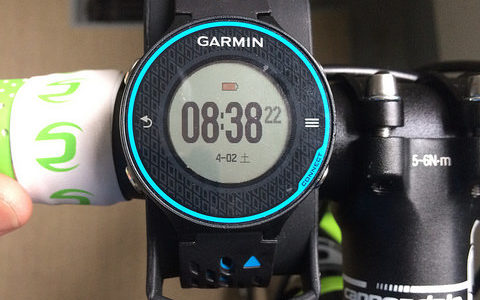 Garmin Bike Mount Kitを購入してForeAthlete 620Jを安定してバイクに固定する