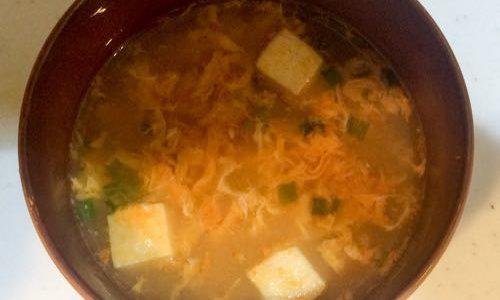 朝食にもオススメのスープ マルちゃんの「スンドゥブチゲスープ」はピリ辛でおいしいよ
