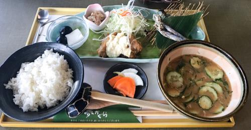 宮崎空港内「夢かぐら」の元祖冷汁定食で郷土料理を堪能しよう