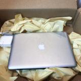 Apple下取りプログラムで引き取りのための箱の受け取りと発送までおわりました