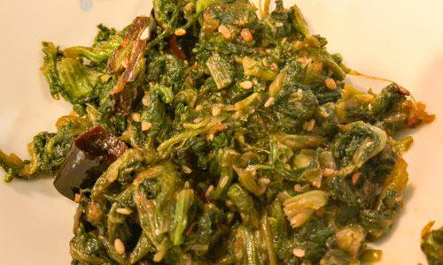 高菜の辛子炒めレシピ〜ピリ辛で美味しいレシピを紹介