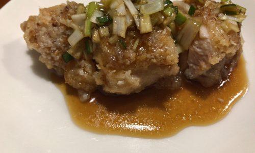 油淋鶏(ユーリンチー)を簡単にフライパンで作るレシピを紹介