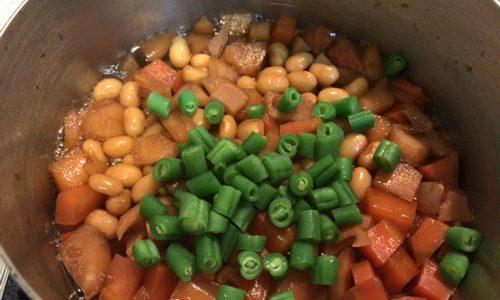 大豆の五目煮のレシピ