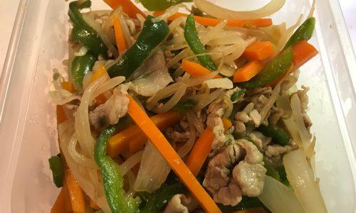 豚肉と野菜の中華風炒め物のレシピ 鶏ガラスープの素を使って簡単に作るレシピを紹介