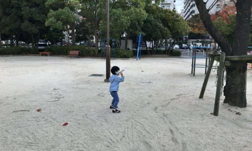 懐かしいおもちゃで遊んだり【ますじゅんパパの写真で振り返る子供達とのふれあい日誌】