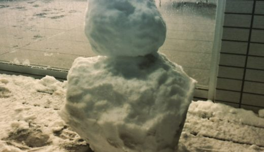 せっかくの雪なので【ますじゅんパパの写真で振り返る子供達とのふれあい日誌】
